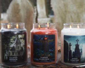 Village Candle Halloween Collection