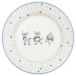 GreenGate_Kinderbord_Kids_Plate_Forrest_Pale_Blue