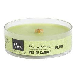 WoodWick Fern Petit Travel Candle