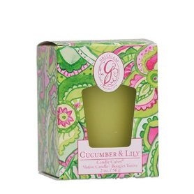 Greenleaf Candle Cube Cucumber & Lily