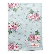 GreenGate Theedoek / Tea towel Marley pale blue 50x70cm
