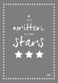 Bastion Collections Notebook A5 Its written in the Stars