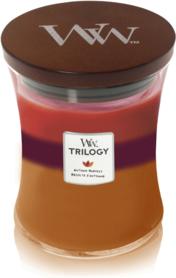 WoodWick® HearthWick® Autumn Harvest Trilogy Medium Candle
