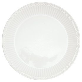 GreenGate Ontbijtbord / Plate Alice White D:23cm