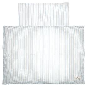 GreenGate Baby Dekbedovertrek / Baby bed linen set Sari Pale Blue 70x100cm