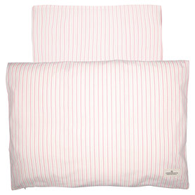 GreenGate Baby Dekbedovertrek / Baby bed linen set Sari Pale Pink 70x100cm