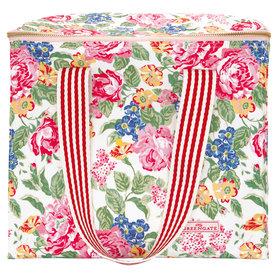 GreenGate Koeltas / Cooler bag two handles Emmaline White 28x20x32cm