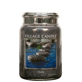 Village Candle Limited Edition Clarity Spa Collection 737gr Large Candle