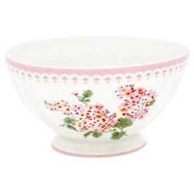 GreenGate Cereal Schaaltje / French bowl xlarge Luna White D:13,5cm