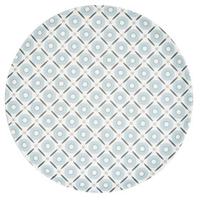 GreenGate Bamboo Bord / Plate Alva White D: 20cm