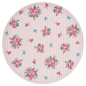 GreenGate Bamboo Bord / Plate Constance White D: 20cm