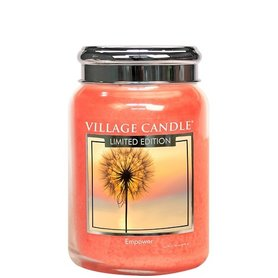 Village Candle Limited Edition Empower Spa Collection 737gr Large Candle
