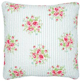 GreenGate Sierkussen / Cushion Nellie Pale Blue 50x50cm