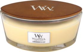 WoodWick® HearthWick® Lemongrass & Lily Ellipse