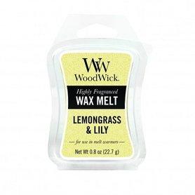 WoodWick® Lemongrass & Lily Mini Wax Melt