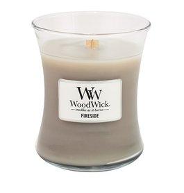 Fireside Geurkaars Medium WoodWick® HearthWick®