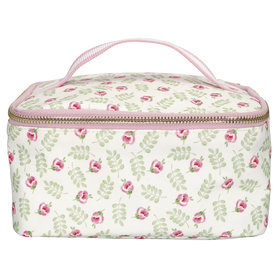 GreenGate Cooler lunchbag Lily petit white 10x20cm