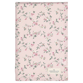 GreenGate Cotton Tablecloth Jolie pale pink 150x150cm
