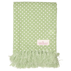GreenGate Cotton Tablecloth Spot Pale Green 130x170cm