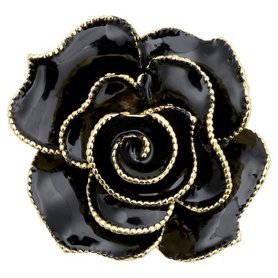 Gate Noir Brooch decoration black GN D:5cm