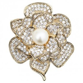 Gate Noir Brooch decoration gold GN D:5cm