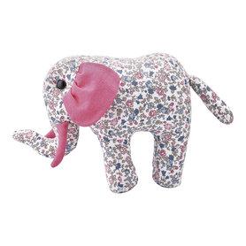 GreenGate Knuffel Olifant /Teddy Elephant Ruby Petit white small H:17cm