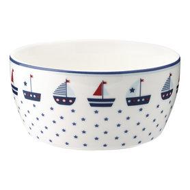 GreenGate Schaaltje Kind / Kids bowl Noah blue D:12,2cm