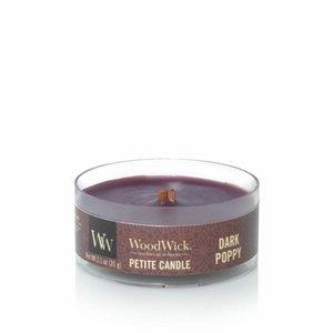 WoodWick Dark Poppy Petit Travel Candle