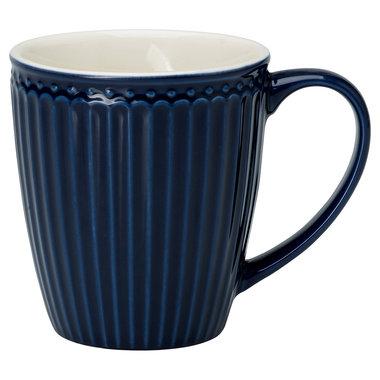GreenGate Every Day Alice Mok / Mug  Dark Blue H: 9,5 cm