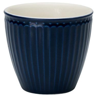 GreenGate Mokje / Latte Cup Every Day Alice Dark Blue