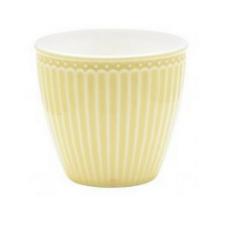 GreenGate Everyday Alice Latte Mok Pale Yellow