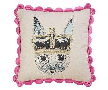 Ginger in Wonderland Sierkussen / Cushion Prince - Pink