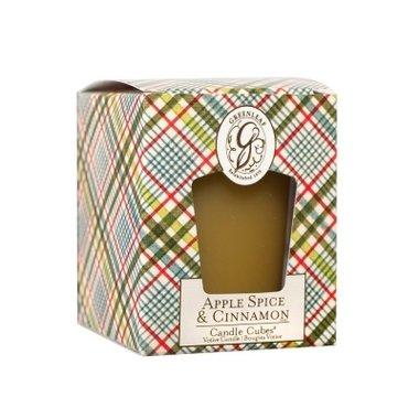 Greenleaf Candle Cube Apple Spice & Cinnamon
