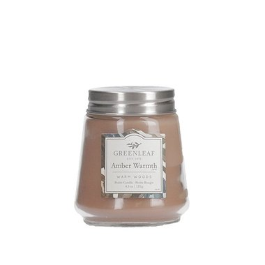 Greenleaf Amber Warmth Petite Candle