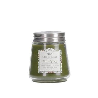 Greenleaf Silver Spruce Petite Candle