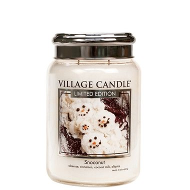 Village Candle Snoconut 737gr Large Candle