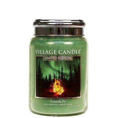 Village Candle Fireside Fir 737gr Large Candle