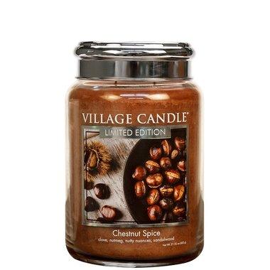 Village Candle Chestnut Spice 737gr Large Candle