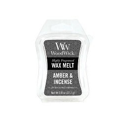 WoodWick® Amber & Incense Mini Wax Melt