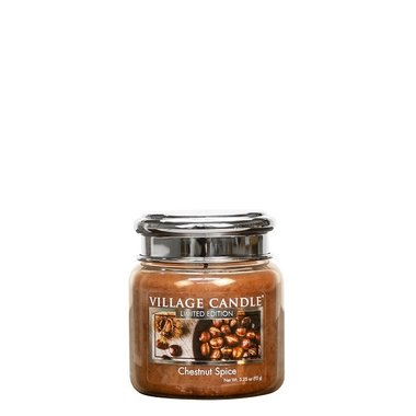 Village Candle Chestnut Spice 92gr Mini Candle
