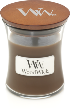 WoodWick® HearthWick® Amber & Incense Mini Candle