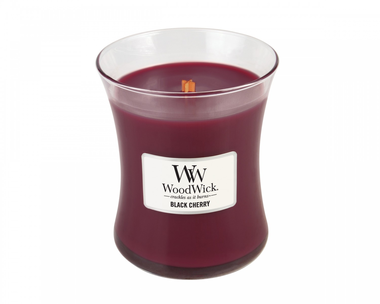 WoodWick® HearthWick® Black Cherry Geurkaars Medium
