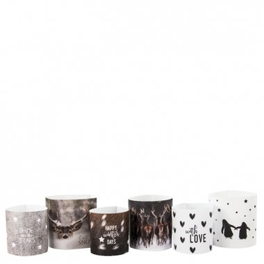 Bastion Collections Paper Light Cover Winter Time set