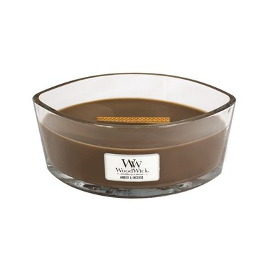 WoodWick® HearthWick® Amber & Incense Ellipse
