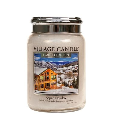 Village Candle Aspen Holiday 737gr Large Candle