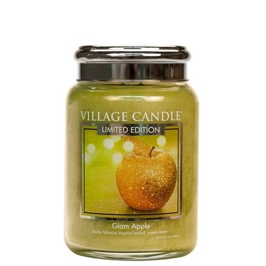 Village Candle Glam Apple 737gr Large Candle