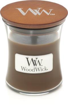 WoodWick® HearthWick® Amber & Incense Mini Candle