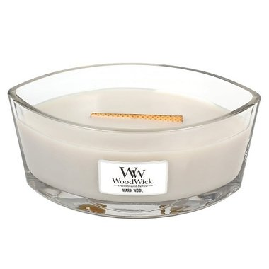 Warm Wool Ellipse WoodWick® HearthWick®