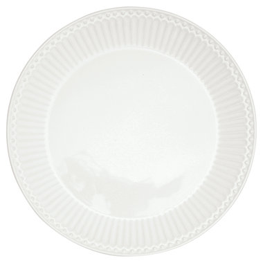 GreenGate Dinerbord / Dinner plate Alice White D: 26,5 cm