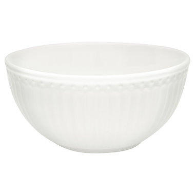 GreenGate Kommetje / Cereal Bowl Alice White D:14cm